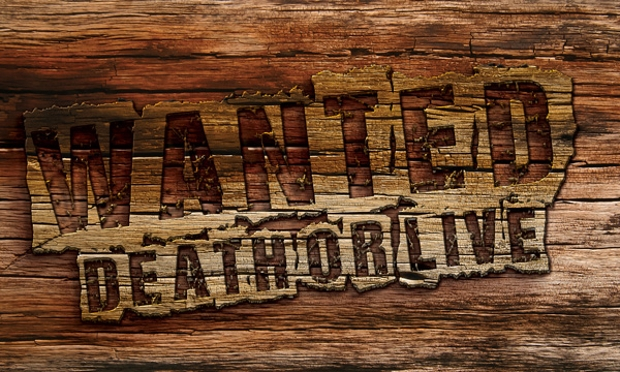 photoshop 3d wood text style