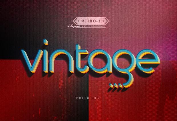 Free Vintage Photoshop Style