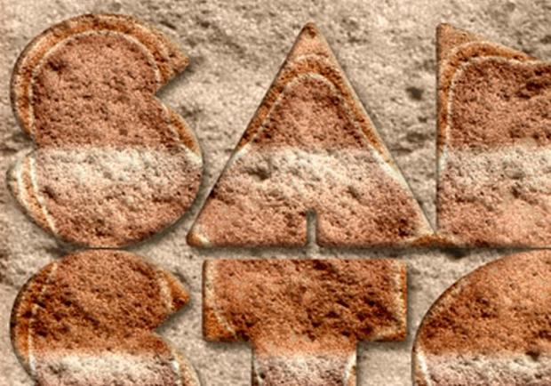 sand stone photoshop style