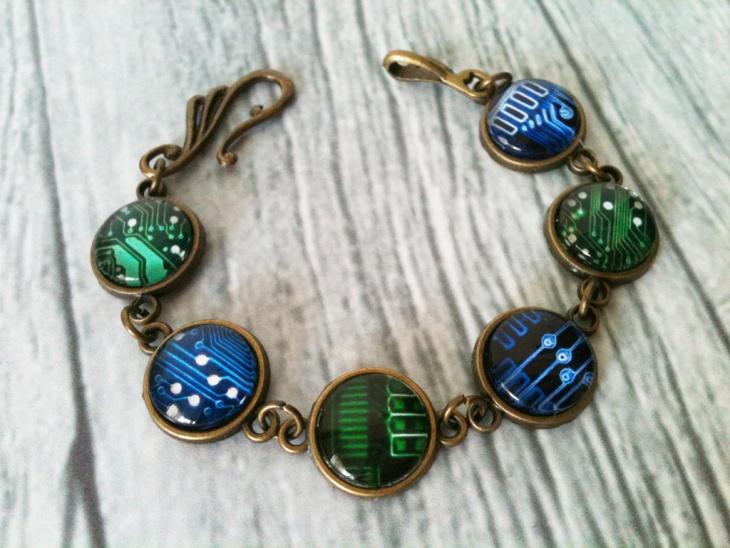 printed circuit board jewelry