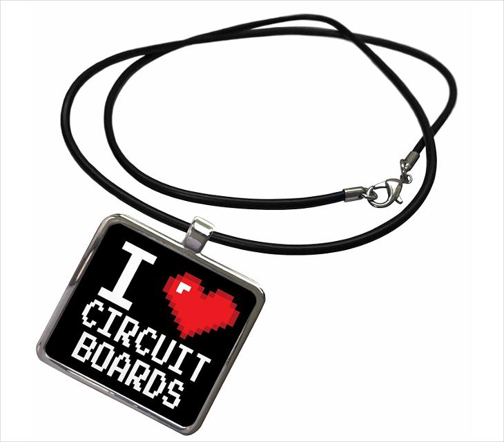 love circuit board jewelry