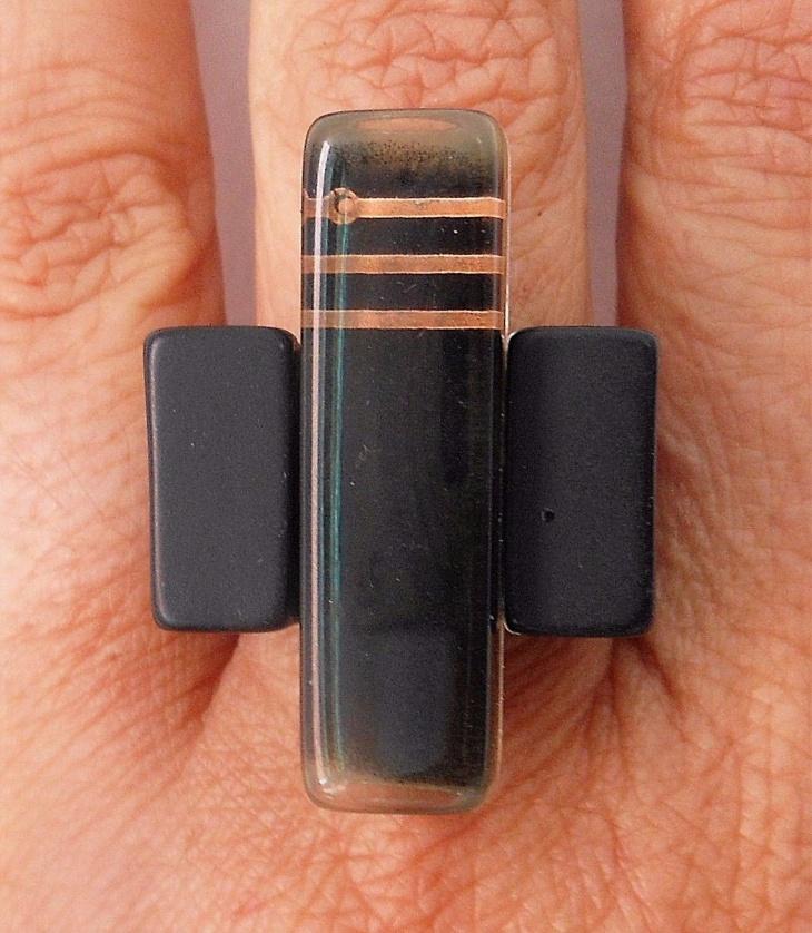 circuit board inclusion jewelry