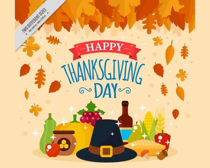 Thanksgiving Vector Background