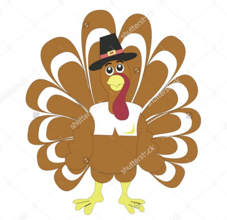thanksgiving vector turkey clipart