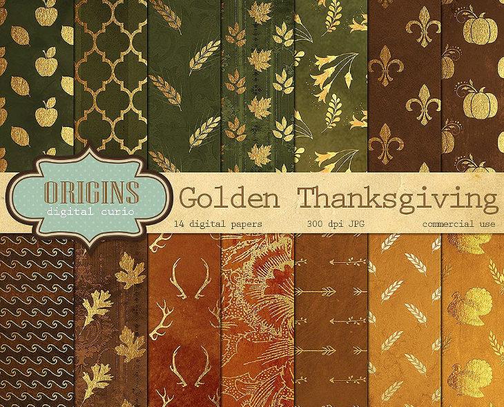 thanksgiving-digital-paper-patterns