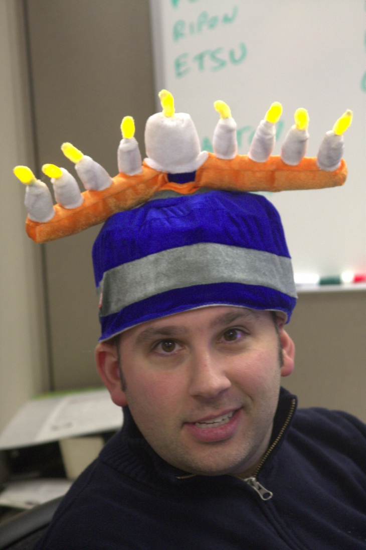 Funny Christmas Candles Hat