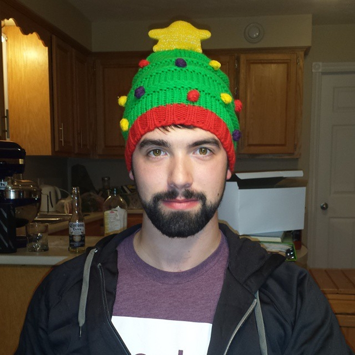 e921cbef866bd Christmas Tree Hat for Men