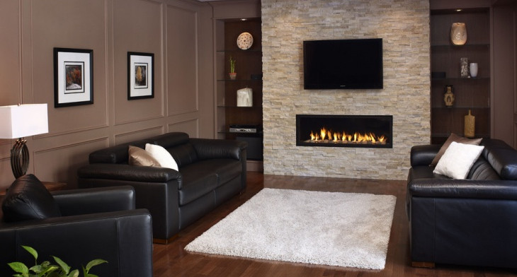 19+ Stone Fireplace Designs, Ideas | Design Trends - Premium PSD ...