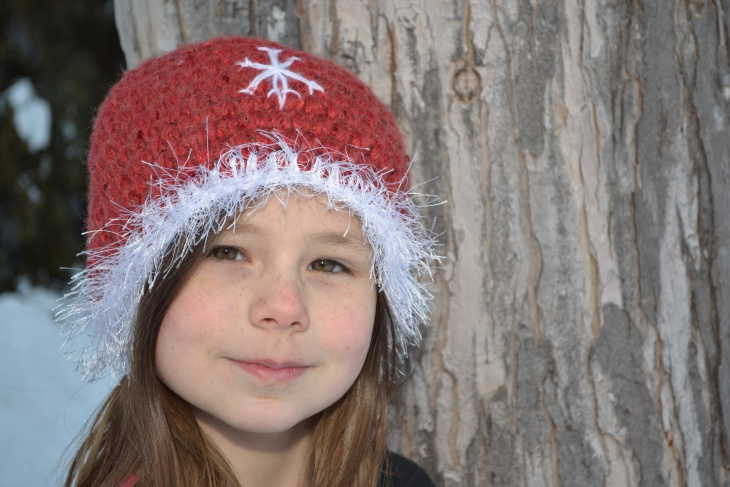 Crochet Christmas Holiday Hat