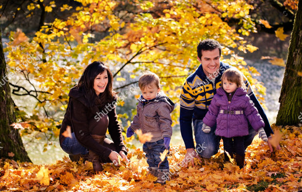 family outdoor portrait photography