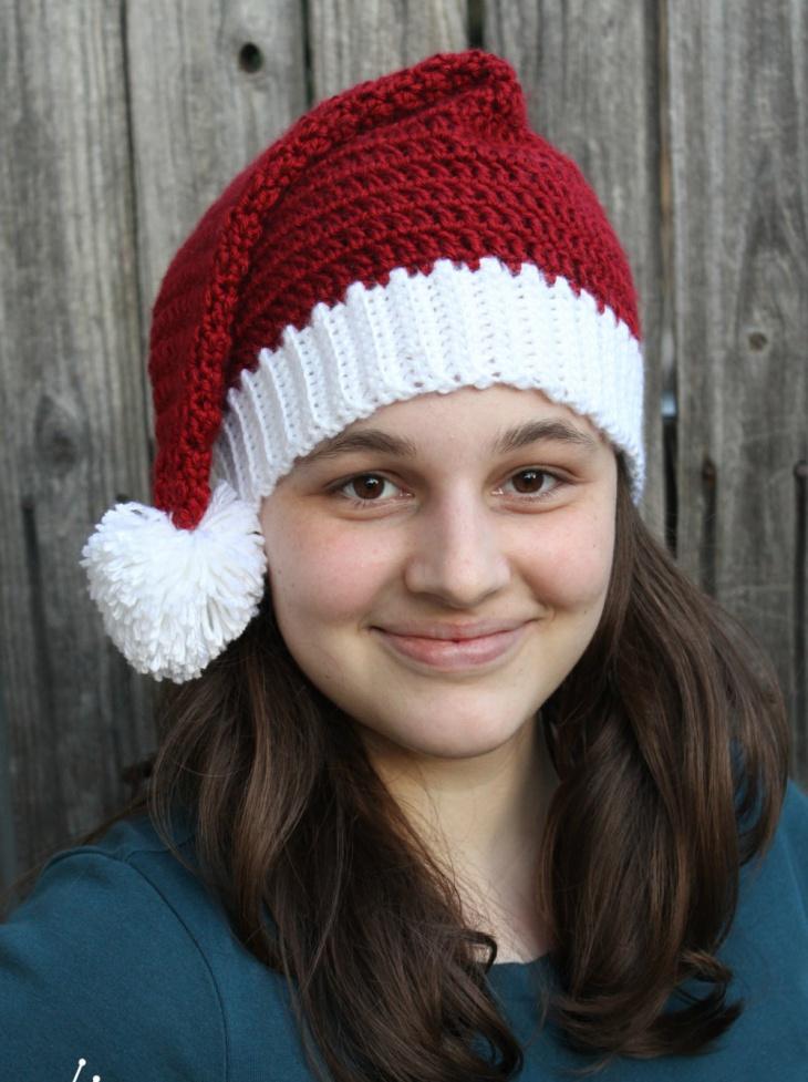 Christmas Santa Hat for Women