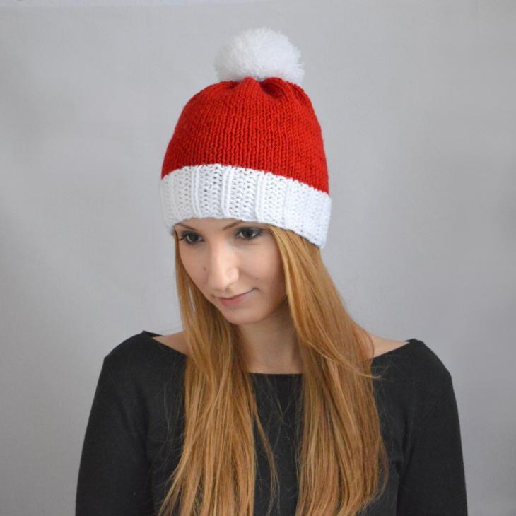 Christmas Santa Beanie Hat