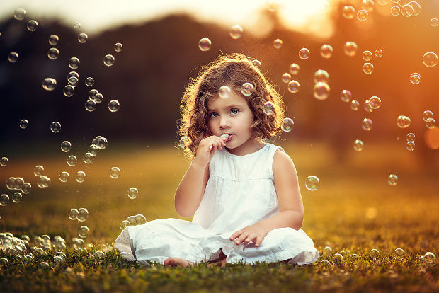 cute kid portrait photography