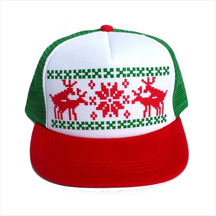 Christmas Mesh Trucker Hat