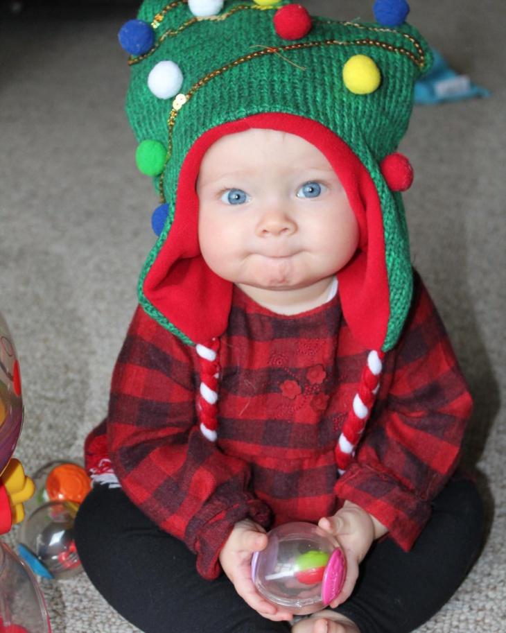 Kid'S Christmas Long Hat