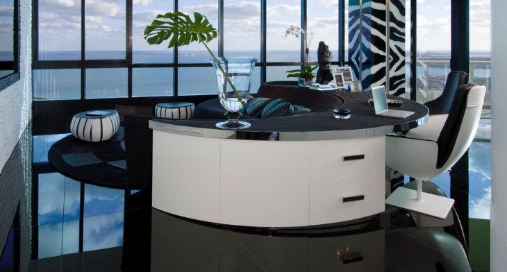 Best Modern Desk Designs & 20+ Modern Desk Designs Ideas   Design Trends - Premium PSD Vector ...