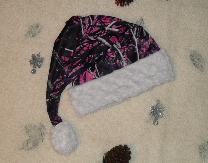 Camo Christmas Hat for Women