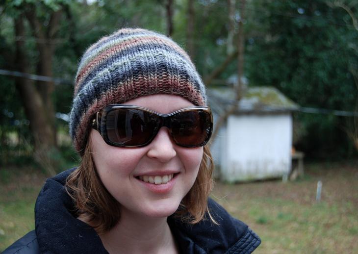 Camo Christmas Stripe Hat
