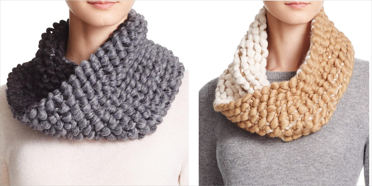 echo roving hills snood scarf