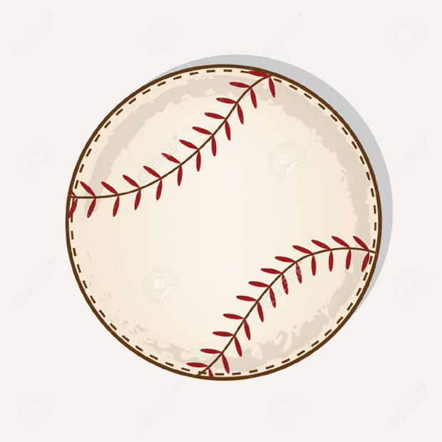 brown transparent baseball clipart