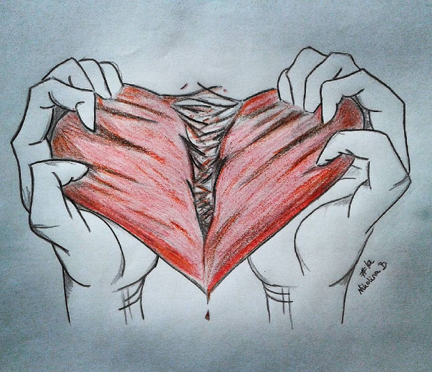Heart Drawings: 20+ Heart Drawings, Art Ideas