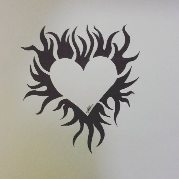 20+ Heart Drawings, Art Ideas | Design Trends - Premium ...