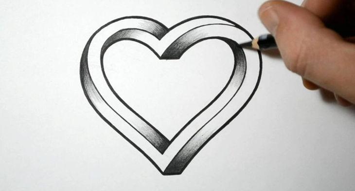 Art Design Drawing : Heart drawings art ideas design trends premium