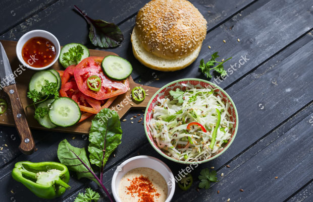 Natural Raw Food Photography