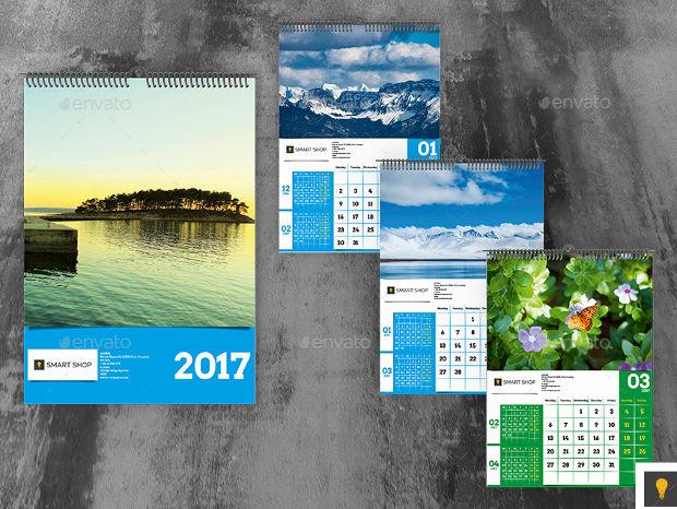 multipurpose wall calendar