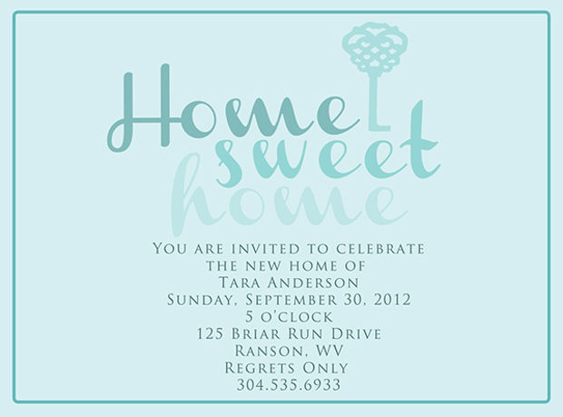 Modern Housewarming Invitation