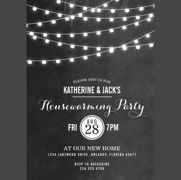 Summer Housewarming Invitation