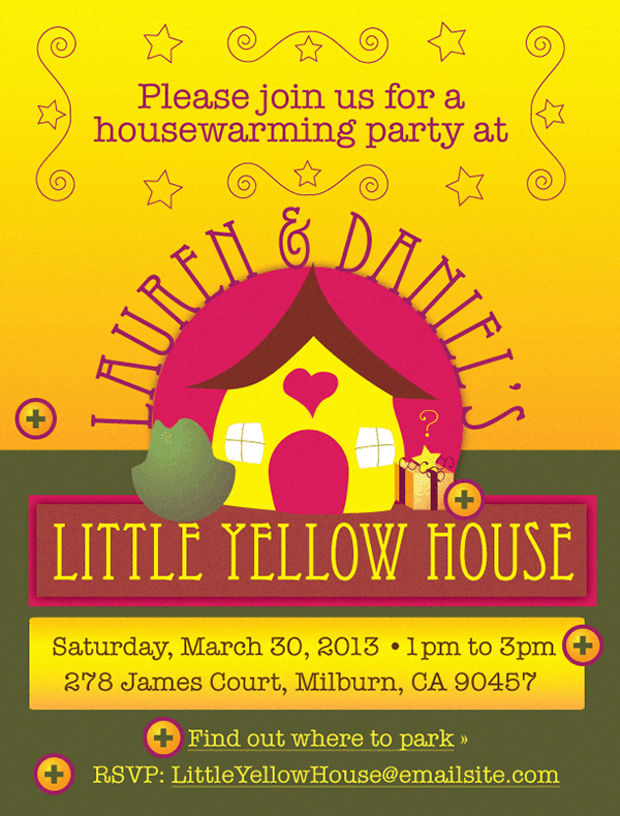 Little Housewarming Invitations