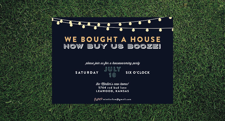 19 Housewarming Invitation Designs