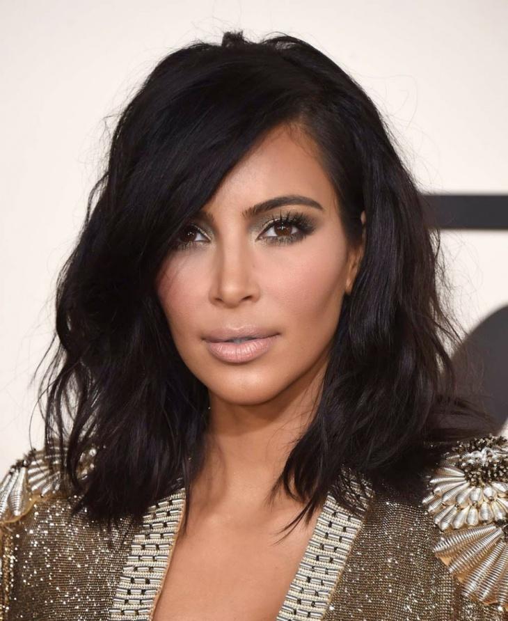 kim kardashian long bob weave hairstyle1