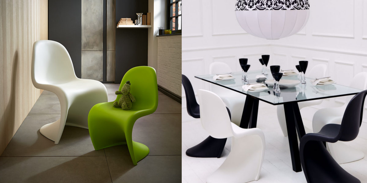 panton s style chair