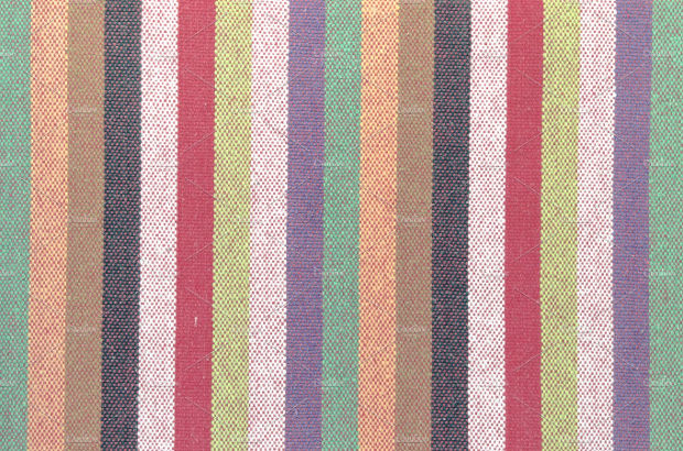 Colorful Striped Cloth Texture
