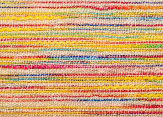 rough striped cloth texture