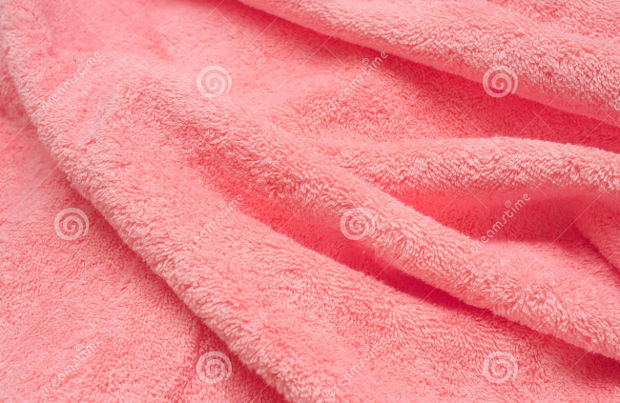 pink smooth cotton cloth texture