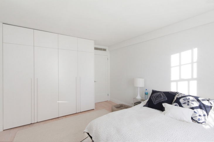 White Bedroom Wardrobe Idea