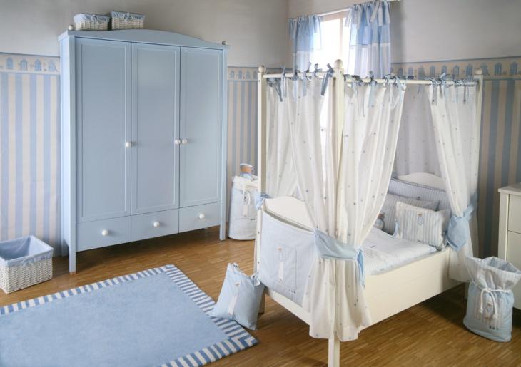Kids Room Small Wardrobe Idea