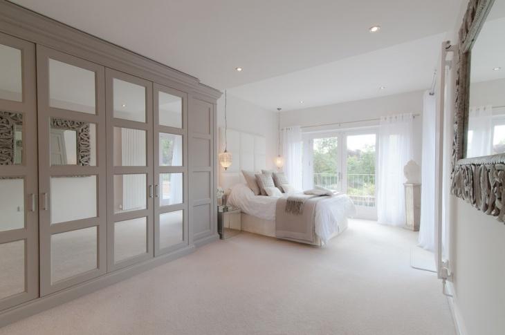 traditional-bed-gray-wardrobe-idea