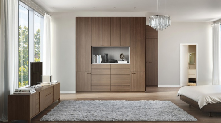 wardrobe-with-open-display-shelf
