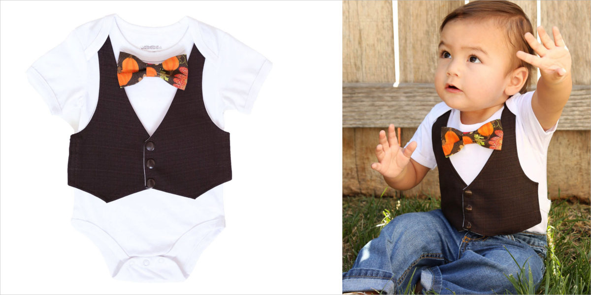 baby-vest-and-thanksgiving-turkey-print-tie