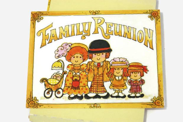 Vintage Family Reunion Party Invitation