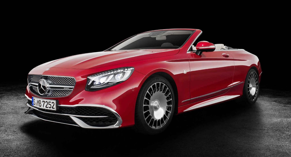 mercedes maybach s650 luxury convertible