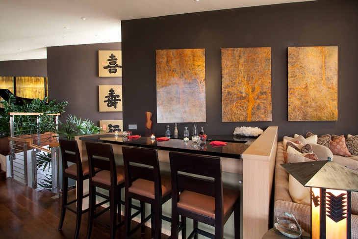 Oriental Wall Art Idea