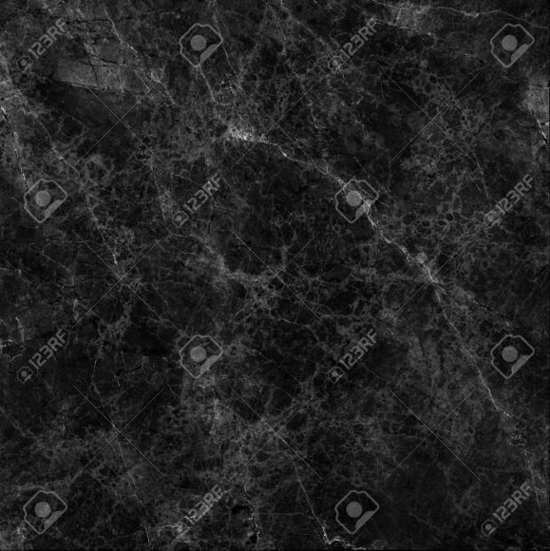 Abstract Black Marble Texture