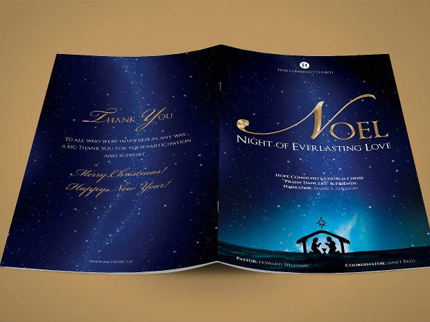 Noel Christmas Brochure