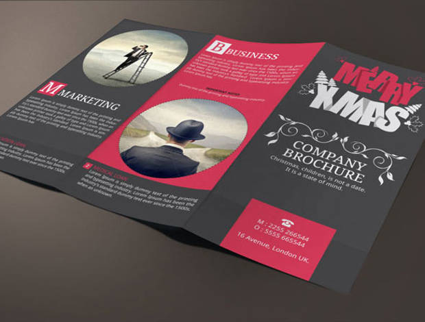 Corporate Christmas Brochure
