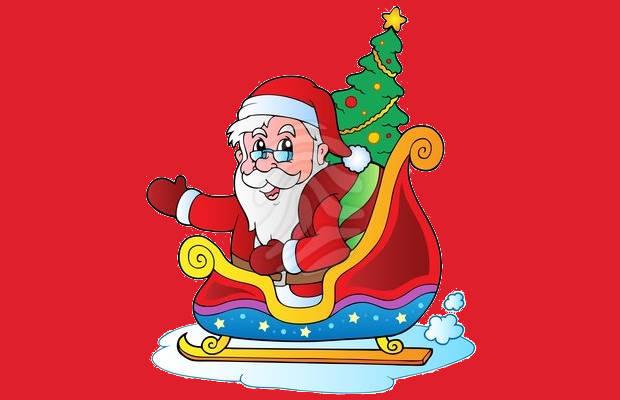 Free Christmas Santa Clipart